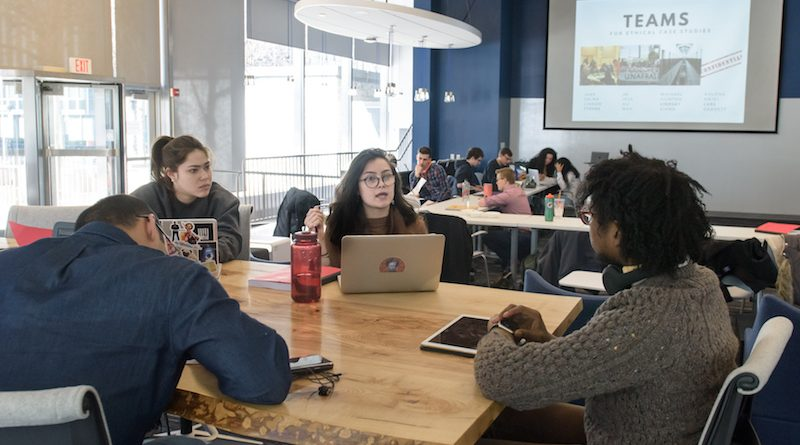 Action Lab student photo by Nick Caito