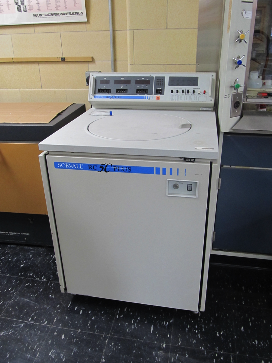 sorvall rc 5c plus ultracentrifuge
