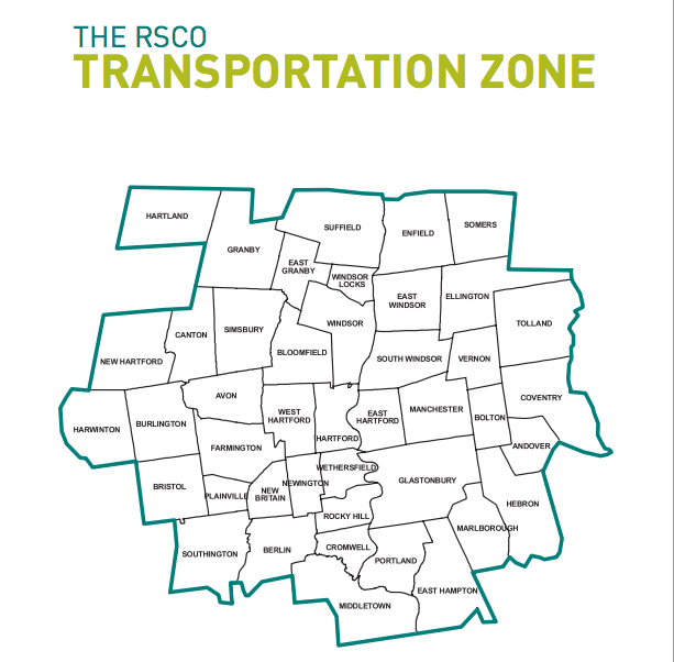 RSCO transportation zone map (Source: Regional School Choice Office)