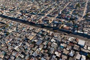 Aerial view of Khayelitsha
