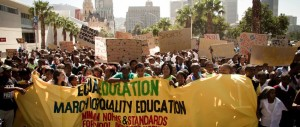 Protest by Equal Education