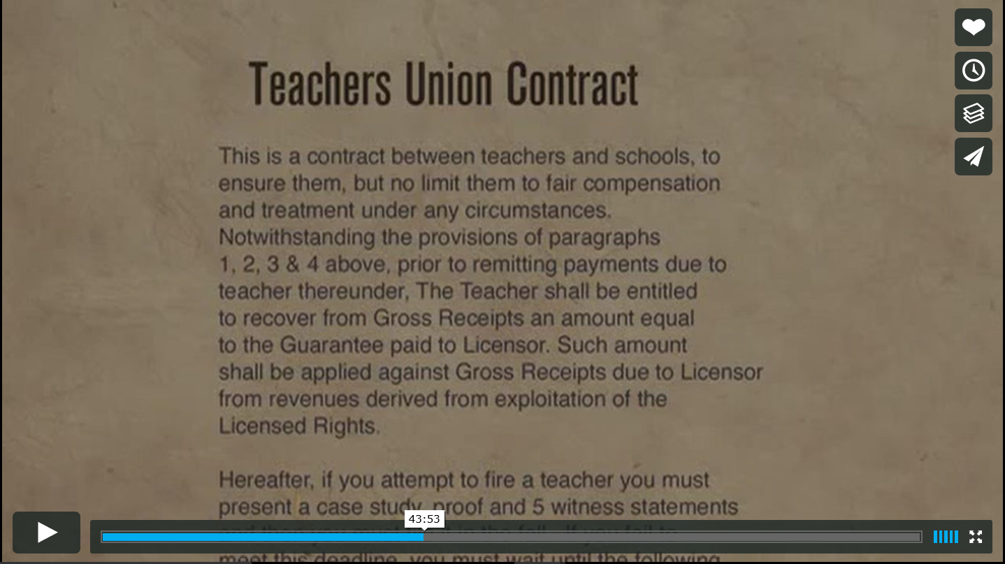 Waiting For Superman Teacher Unions Educ  Education Reform Video Analysis Capture  Waiting For Superman Teacher Unions