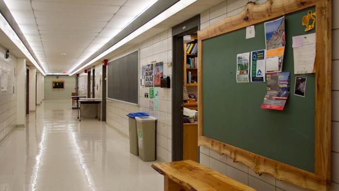 ENVS hallway