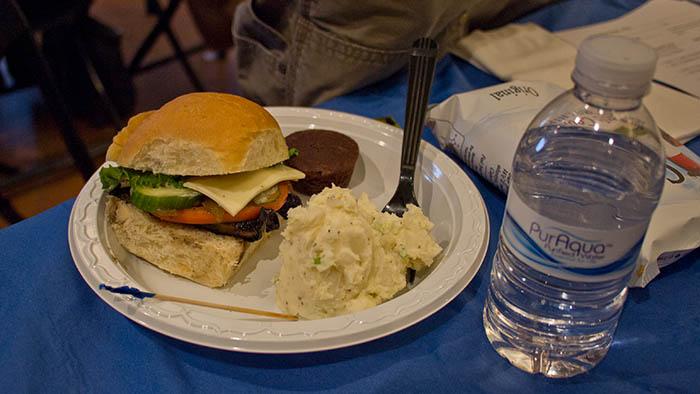 a delicious veggie sandwich