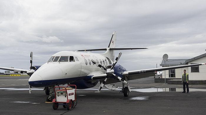 Our jumbo jet to Höfn.