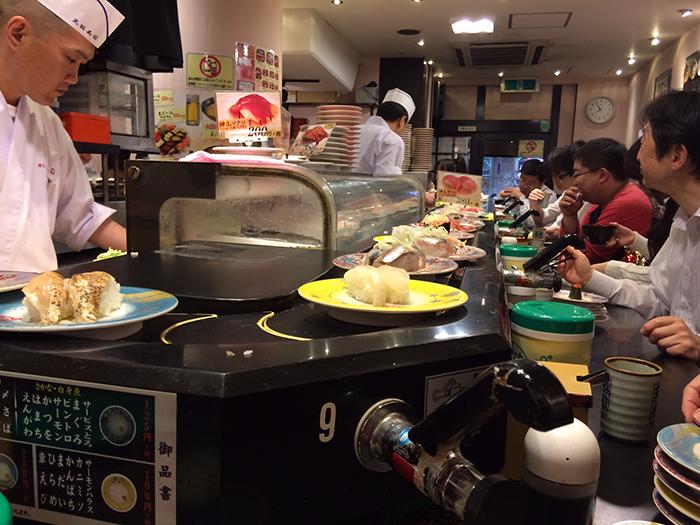 Best sushi in Tokyo!