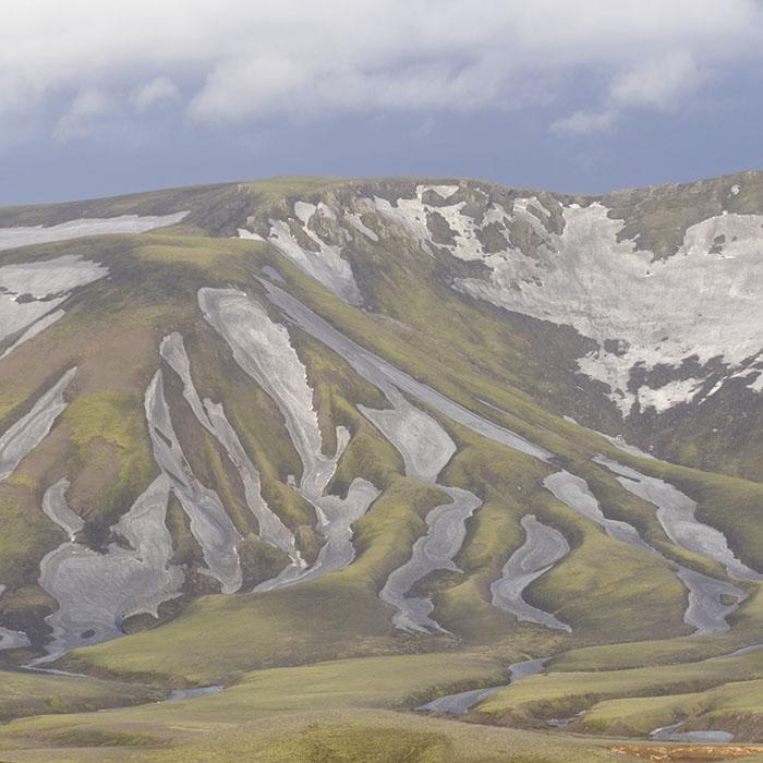 Rhyolite hills near landmannalaugar.