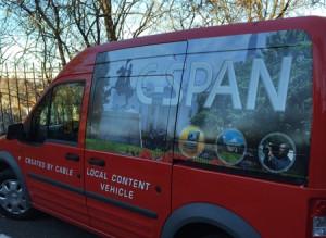 Scott Gac CSPAN Cities Tour Vehicle
