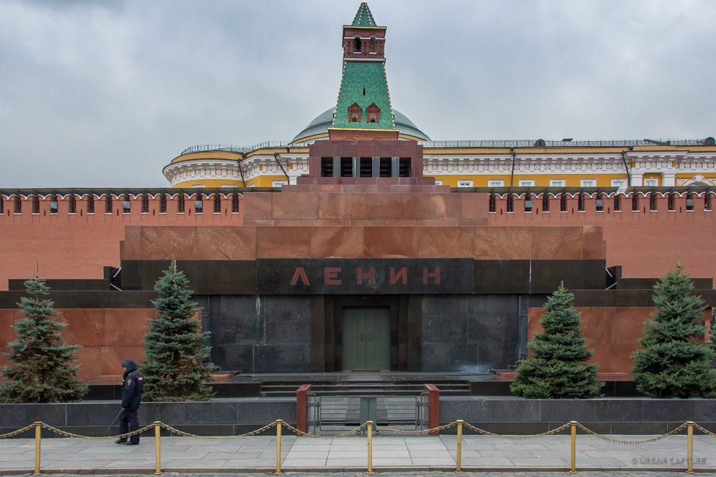 Red Square Mausoleum Lenin