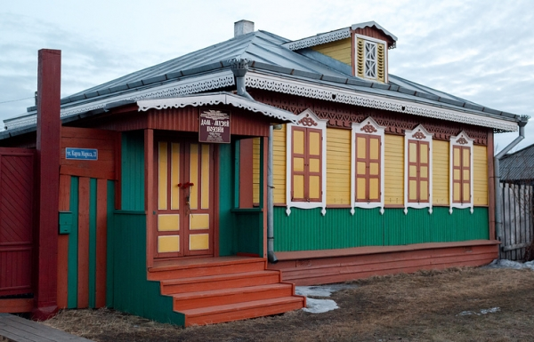 Yevgeny Yevtushenko%27s Childhood Home in Siberia