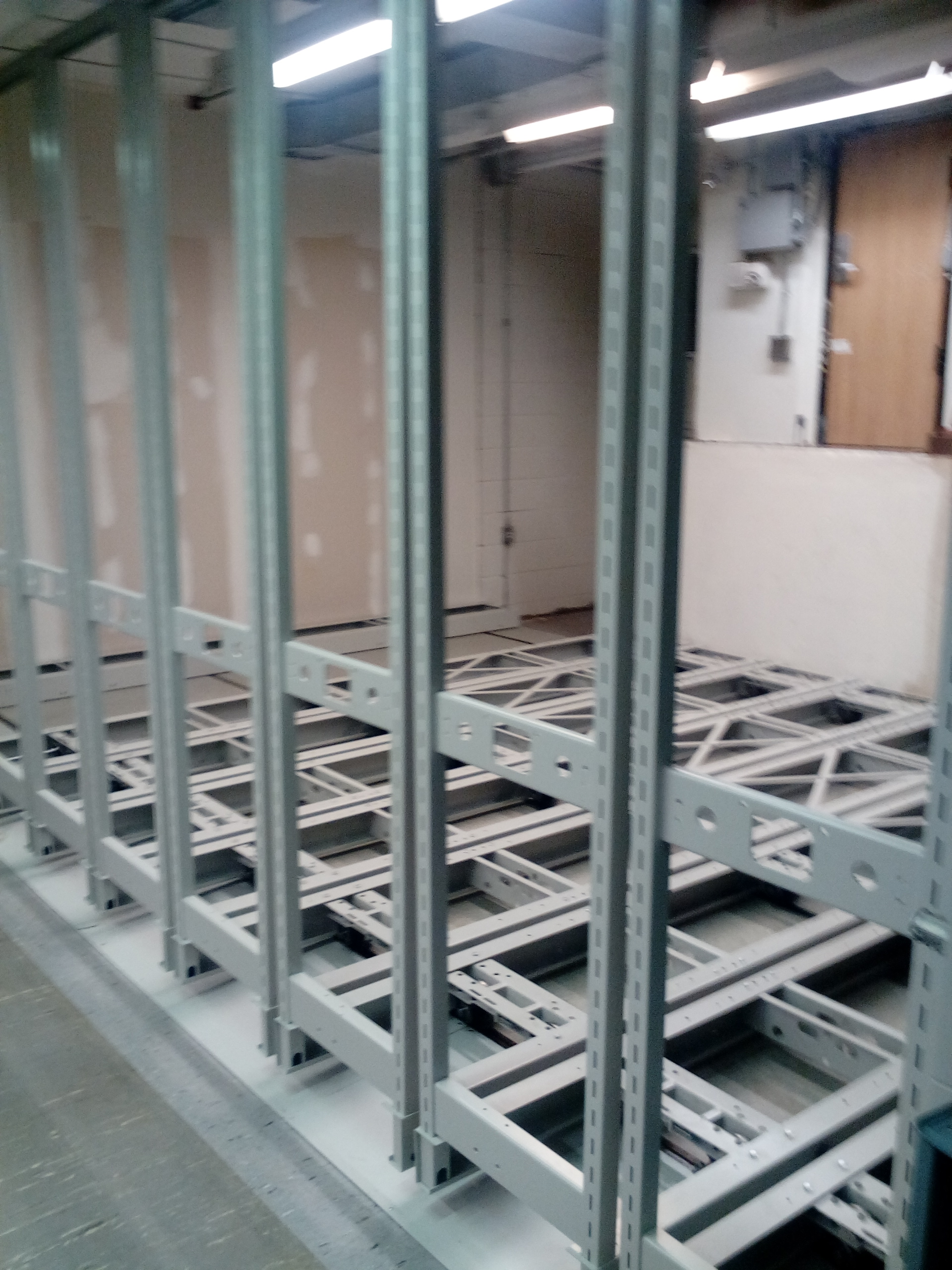 New compact shelving in the Watkinson! « Trinity College Library ...