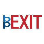 Beprexit logo, project of the UPenn Libraries
