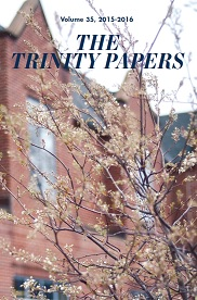 2012 Trinity Papers