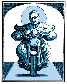 Pope inside