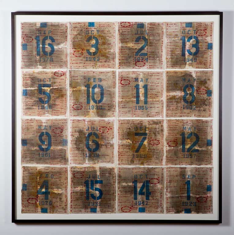 Magic Square 34 George Widener  (1953- )