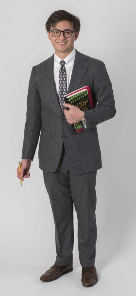 George A. Kellner '64 Presidential Scholar Gregory Convertito '16
