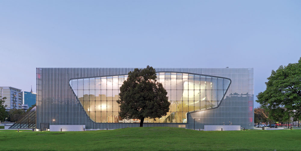 The POLIN Museum of the History of Polish Jews PHOTO: W. KRYNSKI/POLIN MUSEUM OF THE HISTORY OF POLISH JEWS