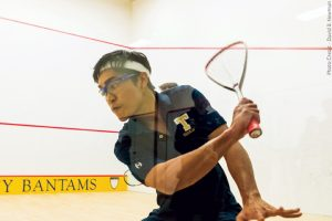 Men's squash tri-captain Affeeq Ismail '17 closed his collegiate career as the all-time winningest player in Trinity men's squash history, with 77 wins and just 12 losses.