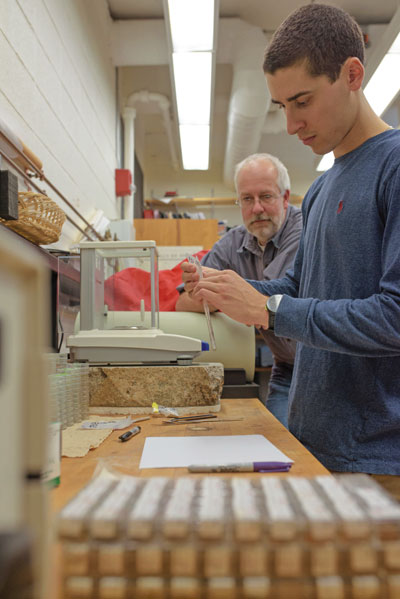preparing sample for measurement