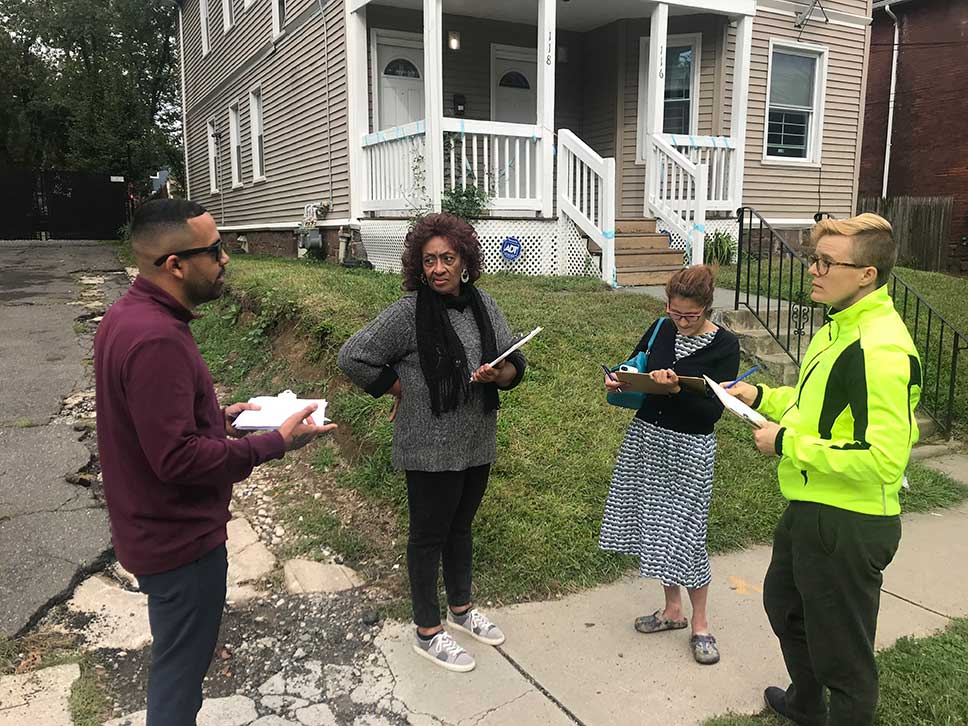 Liberal Arts Action Lab Absentee Landlord team check data