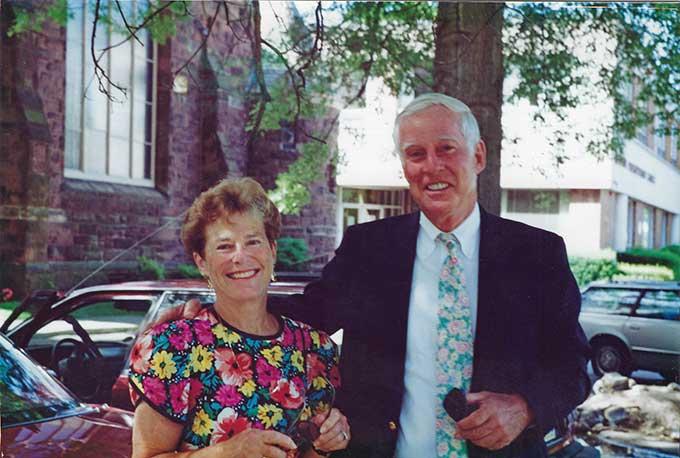 Georgia and Jerry Hansen