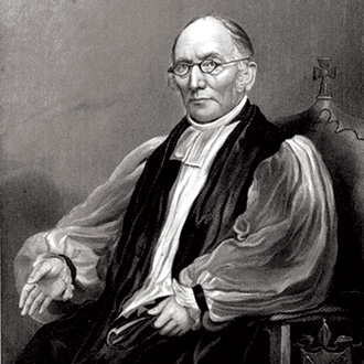 Illustration of Bishop Brownell