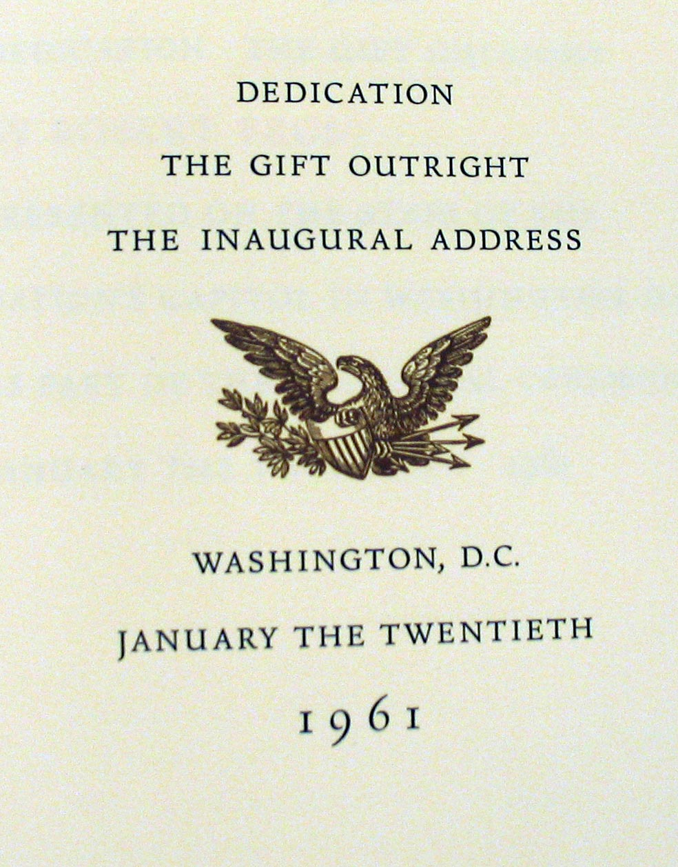 the embodiment of early americans in the gift outright a poem by robert frost The poet laureate reflects on what makes the american people a  slavery is the  largest and most egregious embodiment of a more general fact about us: that   even as purely cinematic a genius as preston sturges wrote first for the stage   directive and excerpt from the gift outright, by robert frost,.