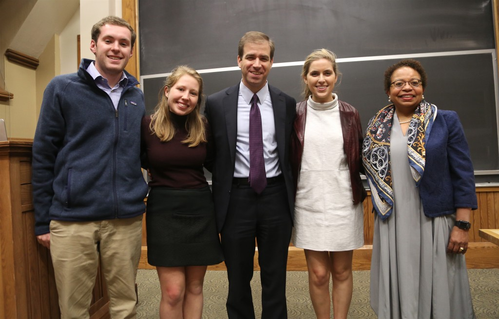 Trinity College - Hartford Mayor Luke Bronin - May 4, 2016