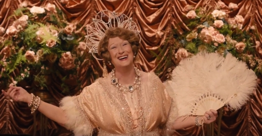 Courtesy of geeksofdoom.com.  Meryl Streep plays Florence Foster Jenkins in the movie of the same name.