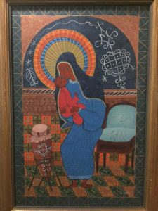 "COURTESY OF Trip Slaymaker '18. Sancilus Ismael ""Untitled, Madonna and Child""."