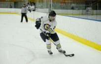 Hockey Bounces Back From Tough Loss, Beats Amherst