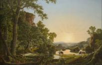 Wadsworth Atheneum Exhibits Hudson River School