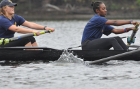 Women's Rowing Falls to Hamilton, RIT, Beats William Smith