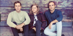 "COURTESY OF pitchfork.com Synth sounds and rich vocals fill the new album from Future Islands, ""The Far Field."""