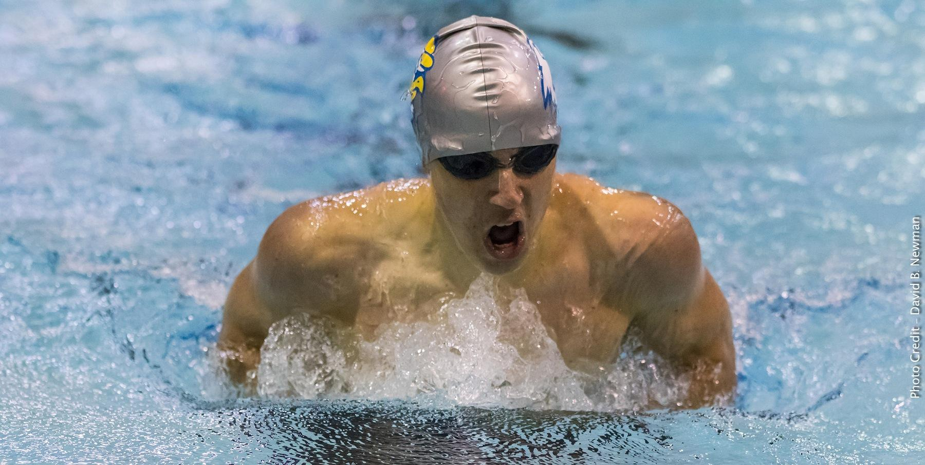 Men s swimming and diving finishes regular season - Trinity college swimming pool timetable ...
