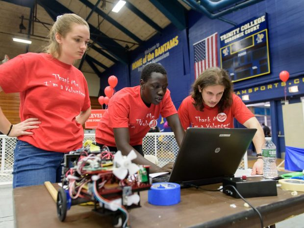 Trinity Hosts 25th Annual Home Robotics Competition