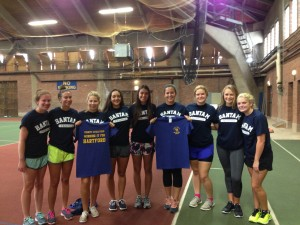 Tennis Team at Do It Day
