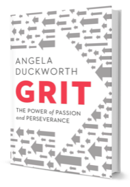 Angela Duckworth's new Book Grit: The Power of Passion and Perseverance released in May 2016. Source: Ed Week Blog
