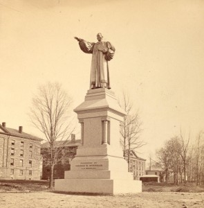 8.  brownell statue