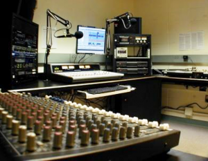 Studio B: WRTC's production studio