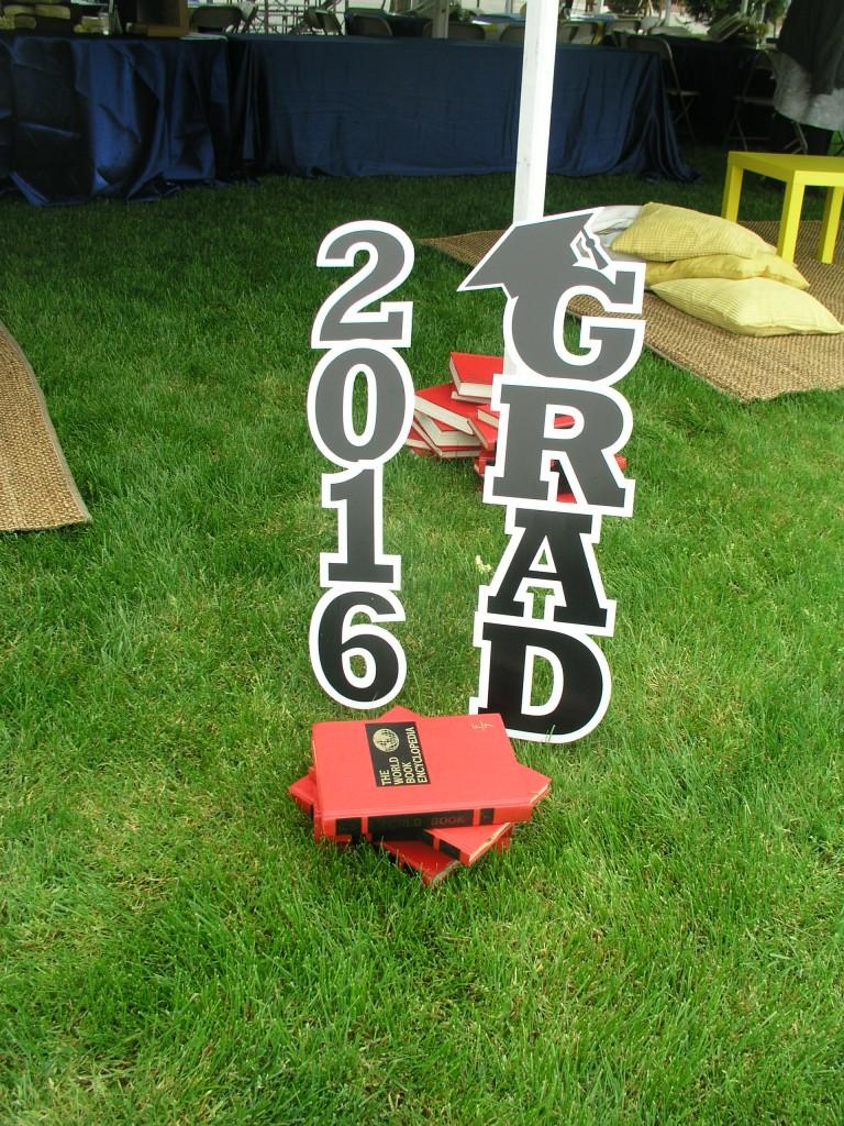 Grad 2016 Sign