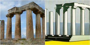 Temple Apollo Collage