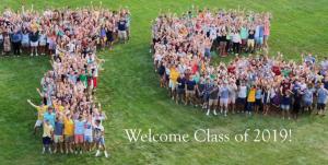 Trinity College Class of 2019, Orientation Week