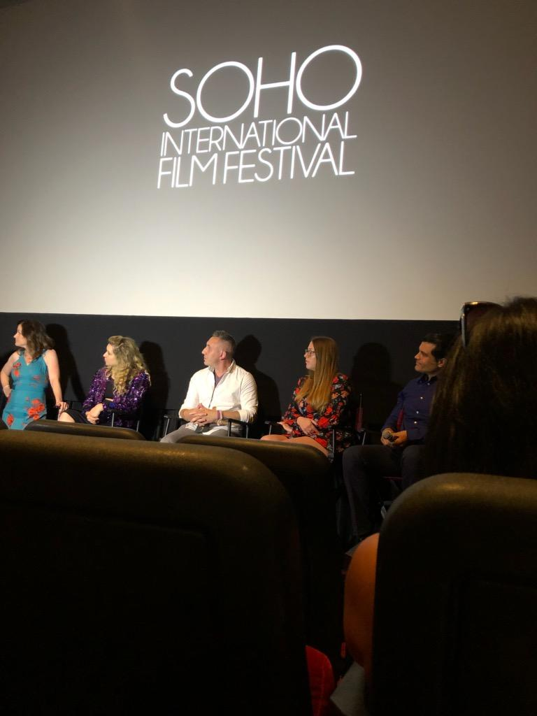 Meredith Veach at SOHO Int'l Film Fest