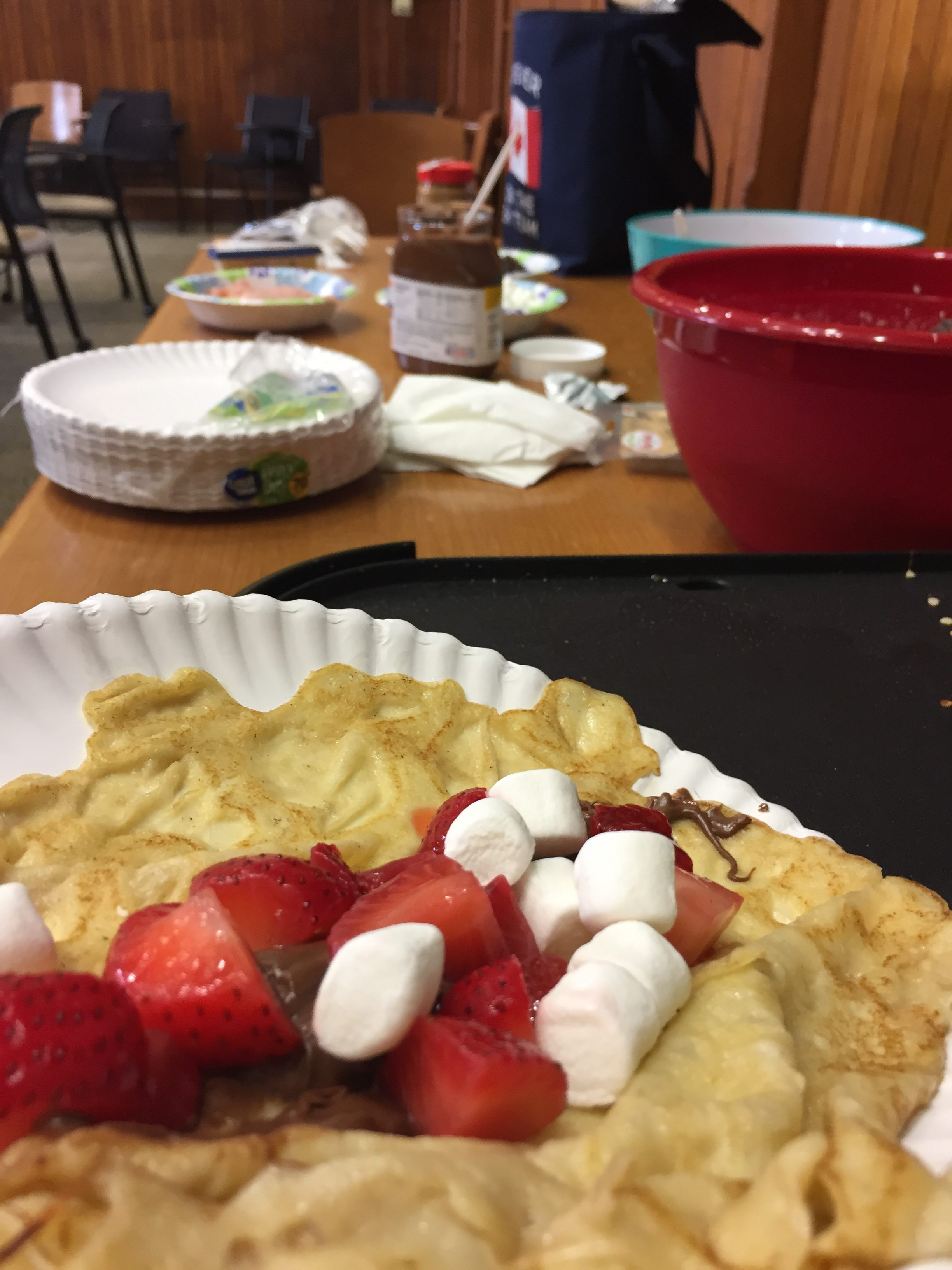 Crêpe Night with the French Club at Trinity College