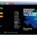How do I start using the Bloomberg terminals?