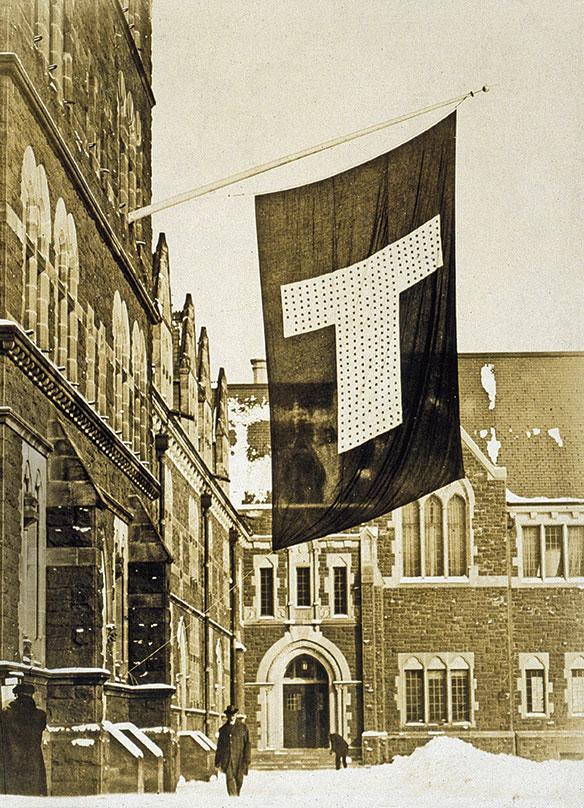 Flag on the Long Walk