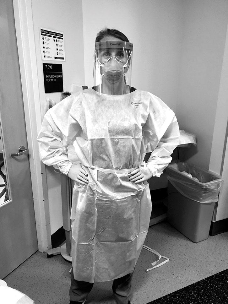 Nurse practitioner Sara Stevens '06