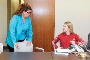 student and adviser