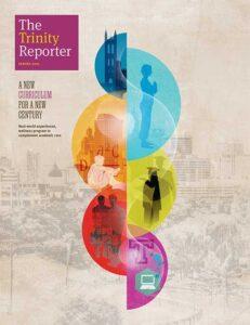 Spring 2021 Trinity Reporter cover